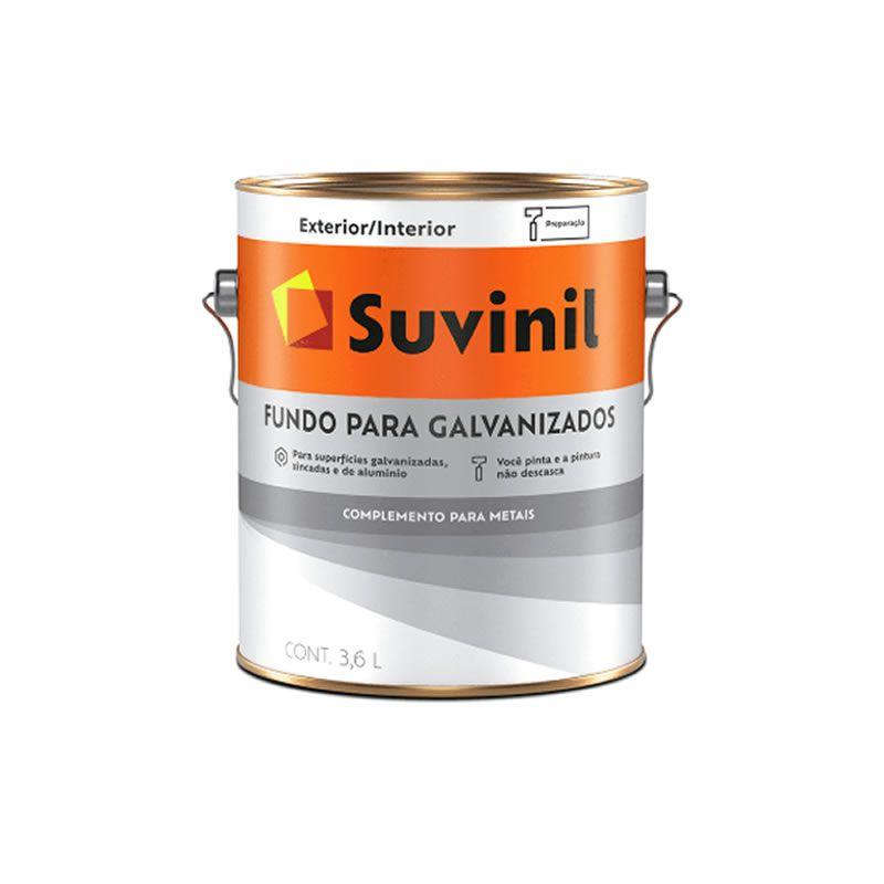Fundo para Galvanizado Suvinil 3,6 Litros