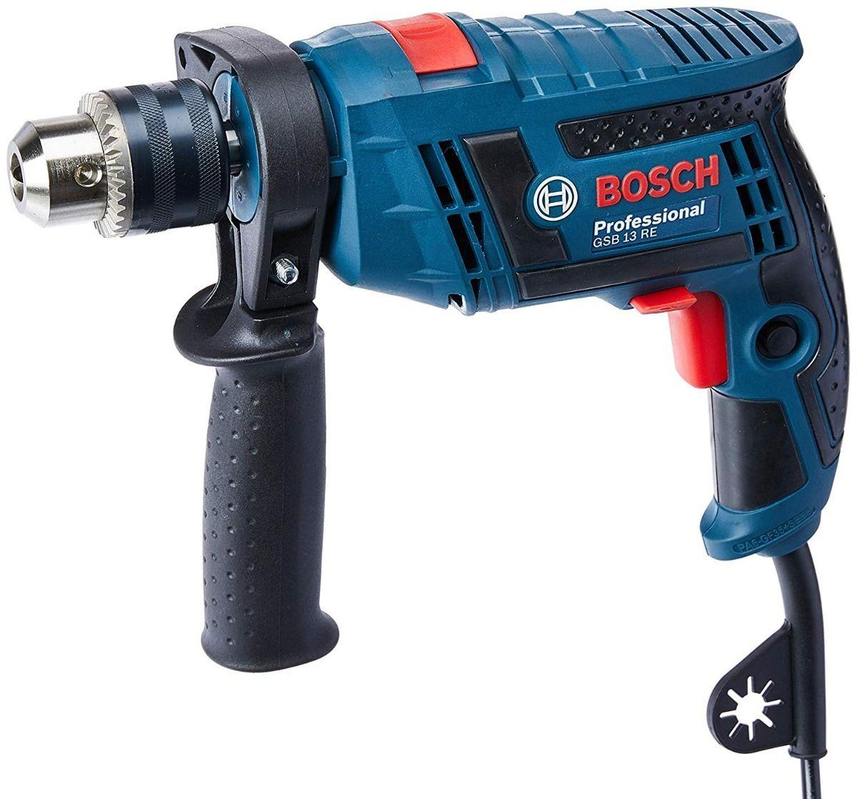 Furadeira Bosch de Impacto GSB 13 RE Professional 650W