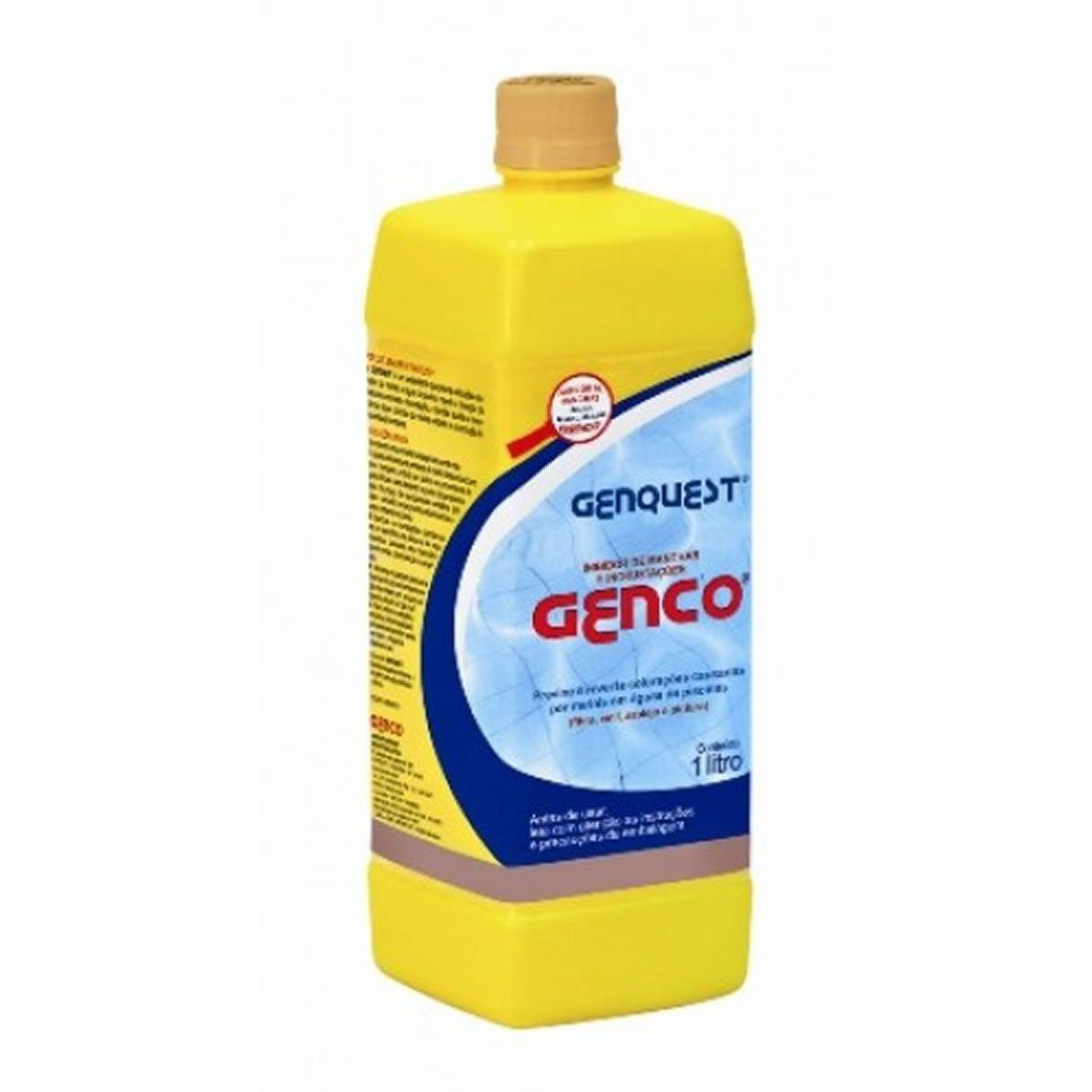 Inibidor de Manchas e Incrustações 1 Litro Genquest Genco