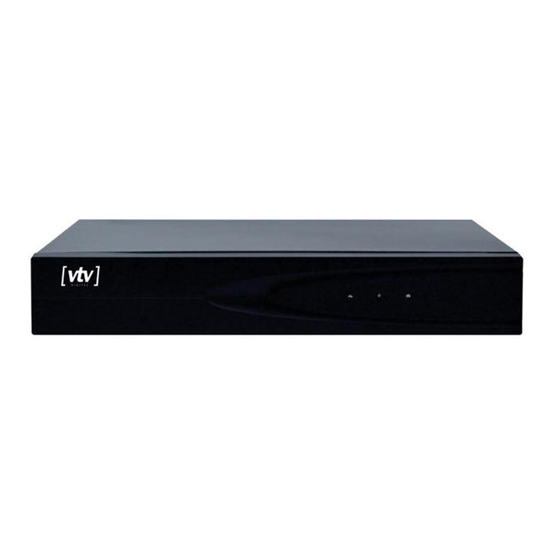 Kit DVR VTV 16 Canais AHD Com HD de 1TB 5X1 720p (1280X720p)