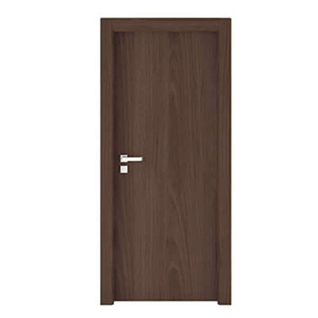 Kit Porta Concrem Wood 2,10 x 0,60 x 3,5 cm Direita Imbuia