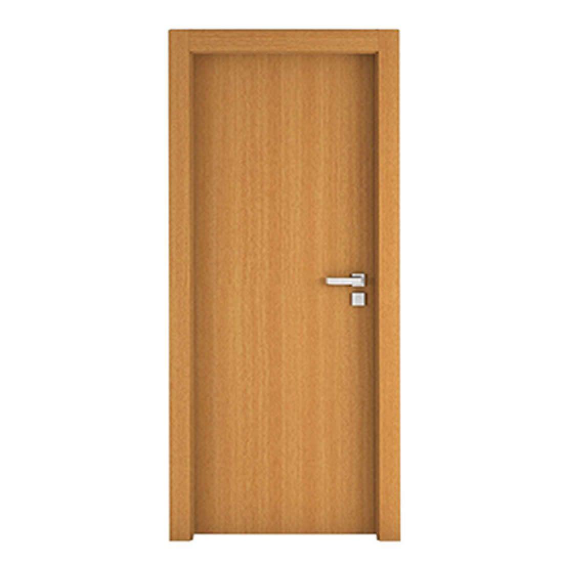 Kit Porta Concrem Wood 2,10 x 0,80 x 3,5 cm Esquerda Currupixá