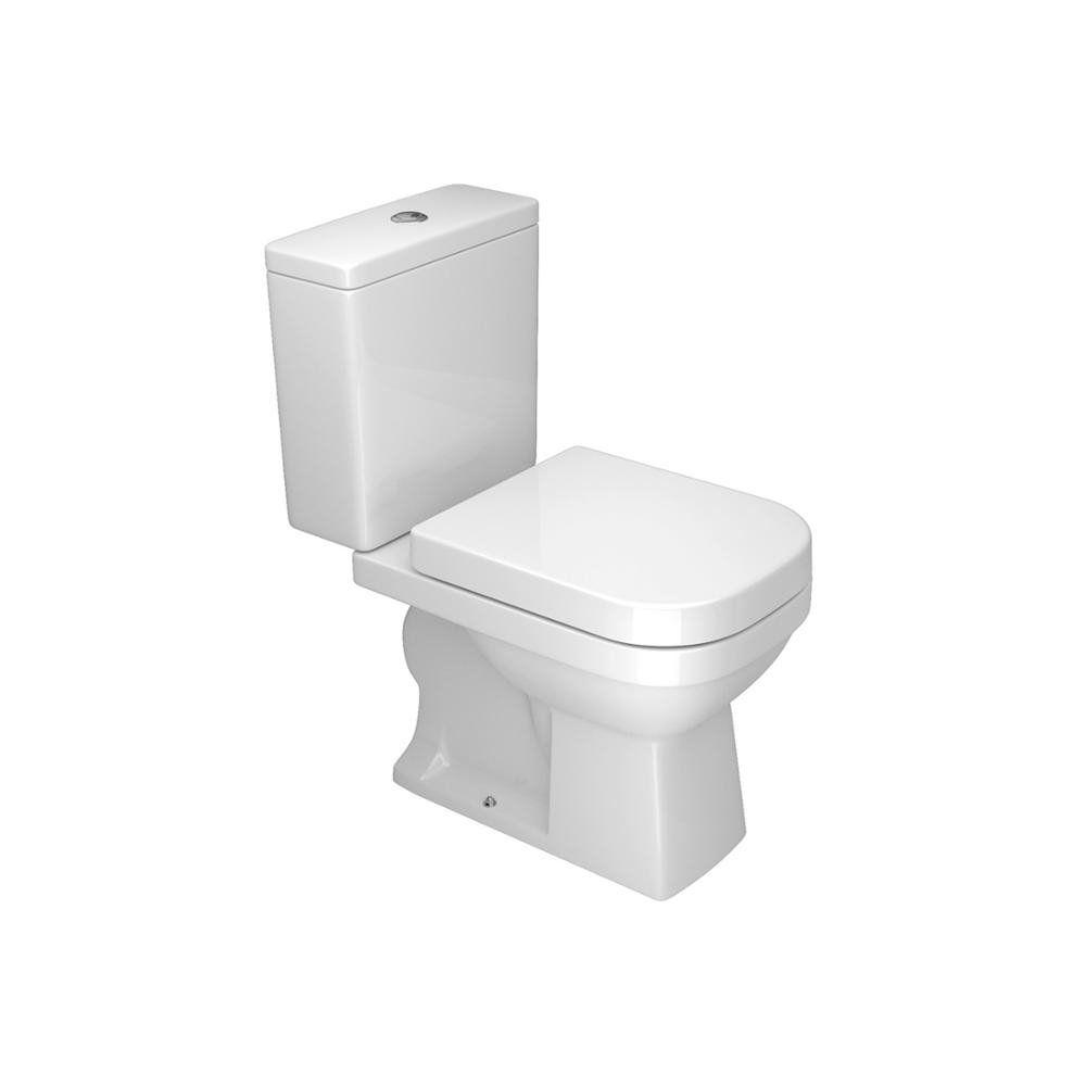 Kit Completo Bacia Com Caixa Acoplada + Acessórios Branco Clean Deca KP.460.17