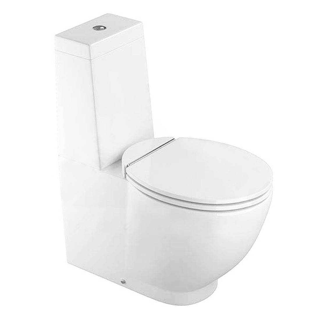 Conjunto Sanitário com Caixa Acoplada 3/6L Ecoflush Dream Branco Com Assento Deca