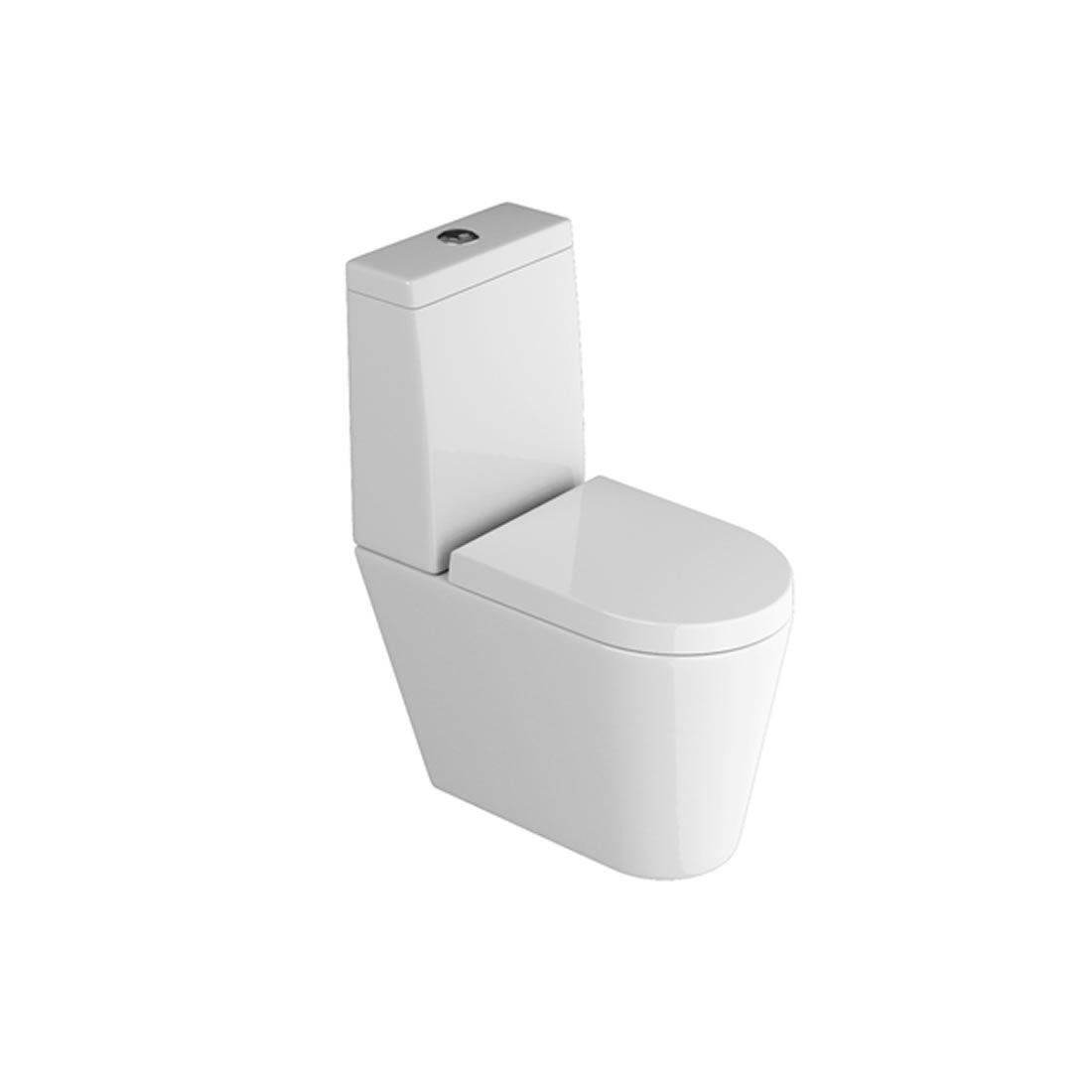 Kit Vaso Sanitário com Caixa Acoplada 3/6L Ecoflush Link Branco Deca