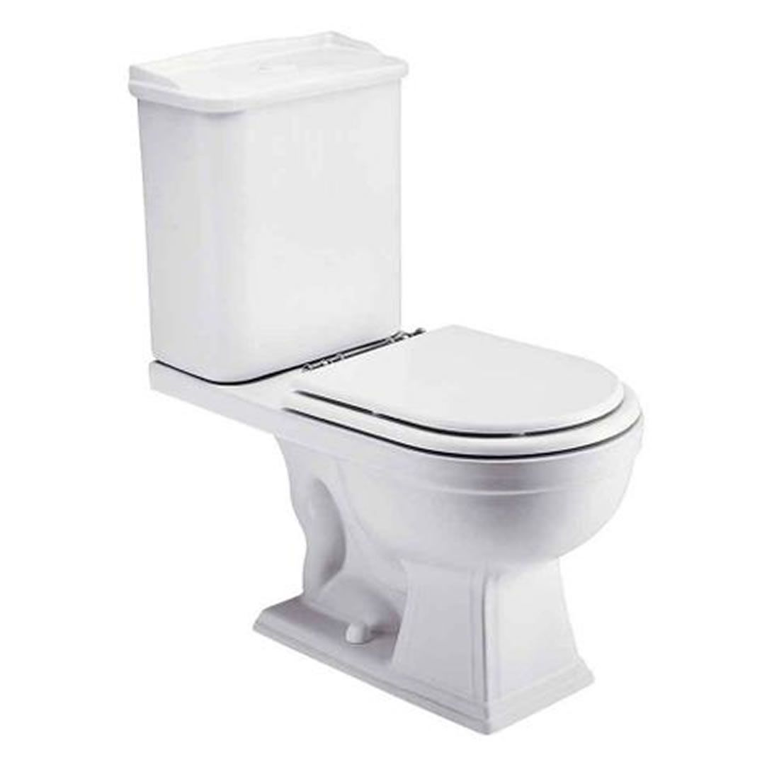 Kit Vaso Sanitário com Caixa Acoplada 3/6L Ecoflush Oxforde Branco Gelo Deca