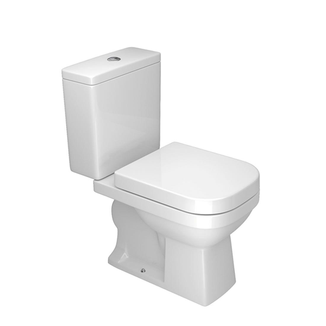 Kit Vaso Sanitário com Caixa Acoplada 3/6L Ecoflush Quadra Branco Deca