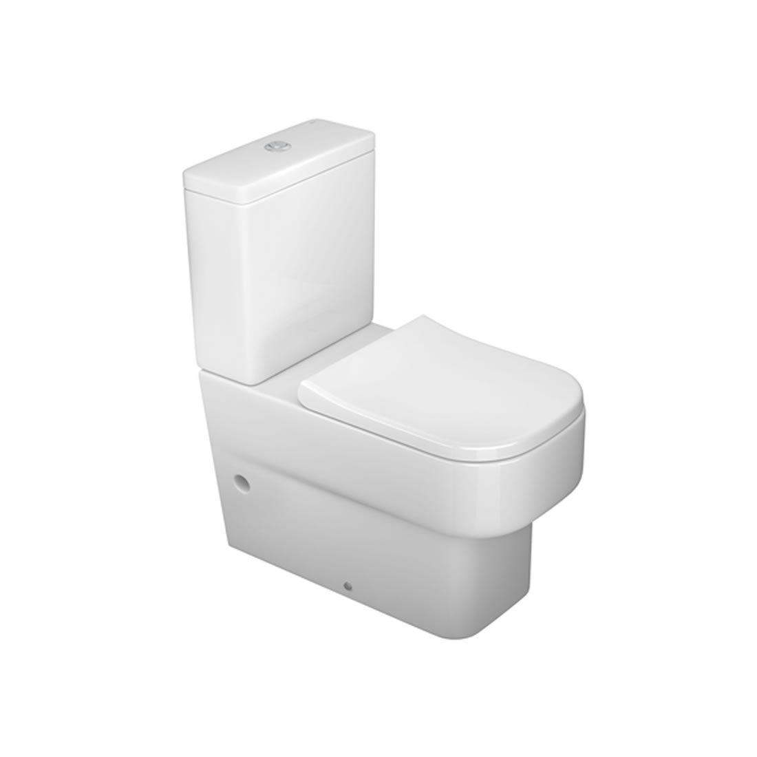 Kit Vaso Sanitário com Caixa Acoplada 3/6L Ecoflush Unic Branco Deca