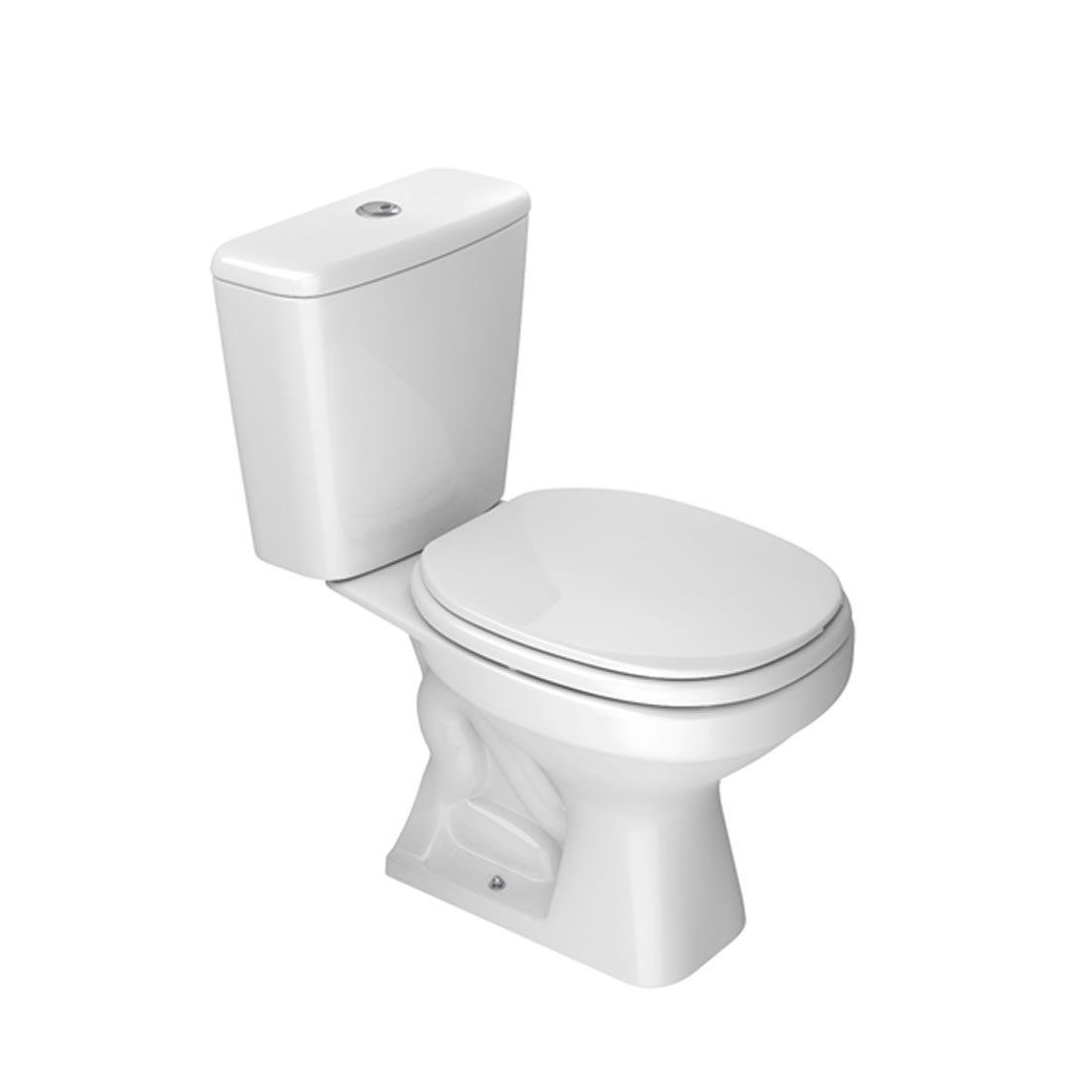 Kit Vaso Sanitário com Caixa Acoplada Aspen Branco Deca