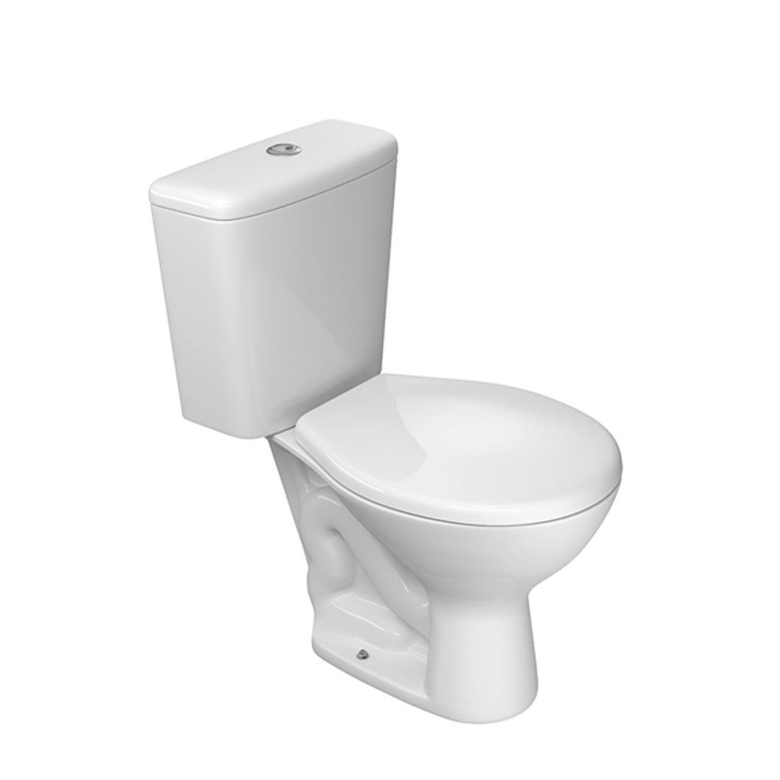 Conjunto Vaso Sanitário com Caixa Acoplada Deca  Izy Branco 1 Acionamento