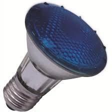 Lâmpada Flc Halógena Par 20 Azul 50W Soquete E-27