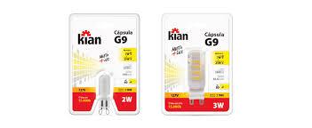 Lâmpada LED Kian G9 3W 2.700K 127V - Ref. 12591