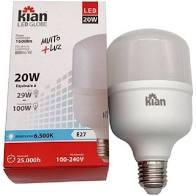 Lâmpada LED Kian Globe 20W 6500K Bivolt