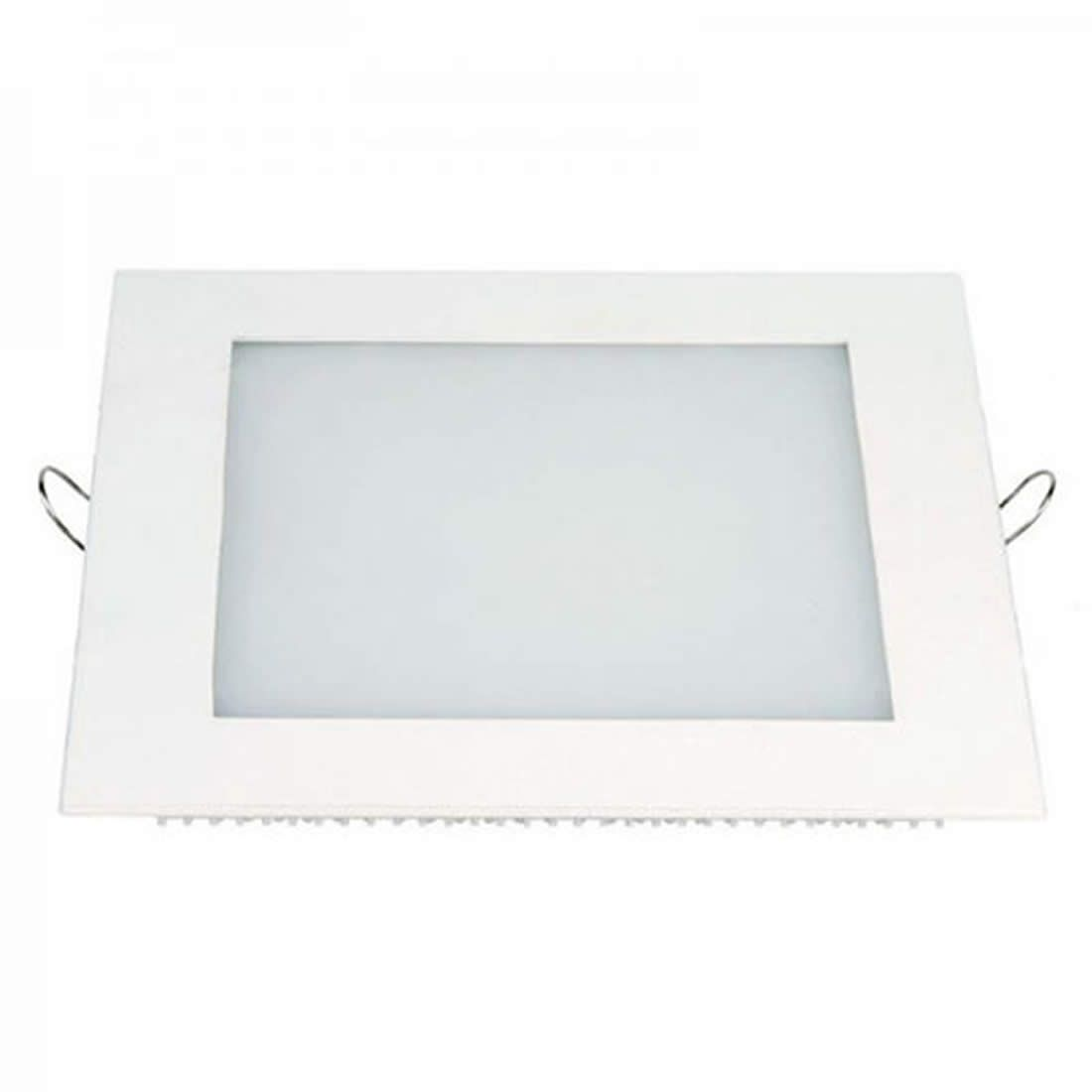 Luminária de Led Taschibra 24W Quadrada Embutir 6500K