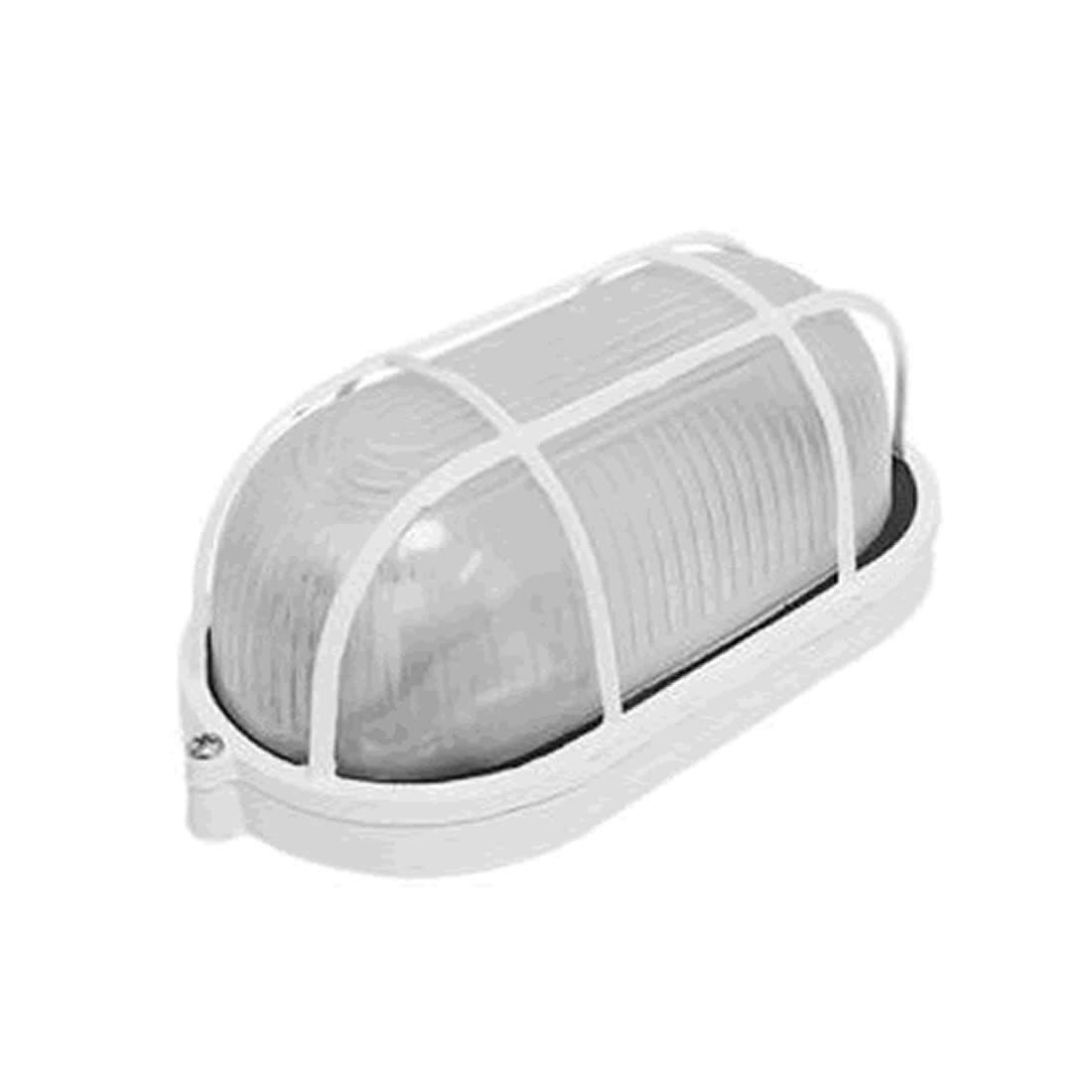 Luminária Dercolux Tartaruga 100W Branca Soquete E-27