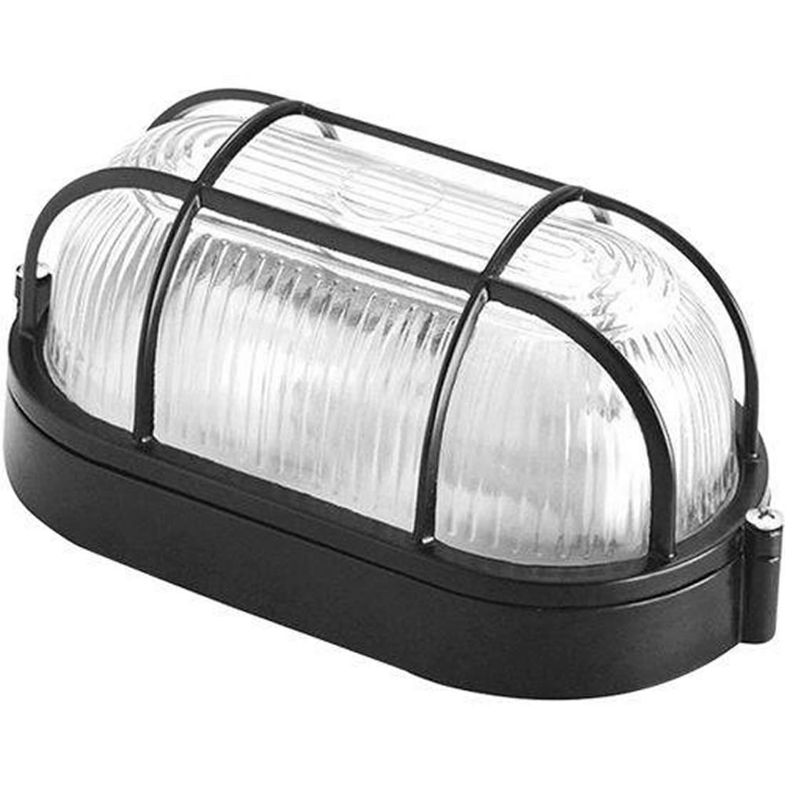 Luminária Dercolux Tartaruga 100W Preta Soquete E-27