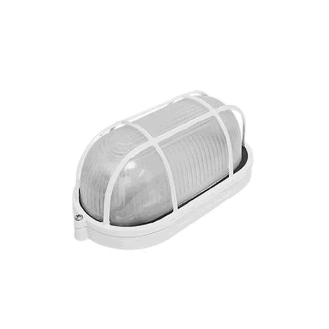 Luminária Dercolux Tartaruga 60W Branca Soquete E-27