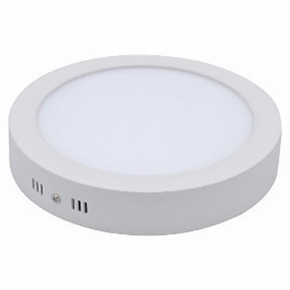 Luminária Ourolux Plafon Led Sobrepor Redondo Bivolt 24W Luz Branca 6400K