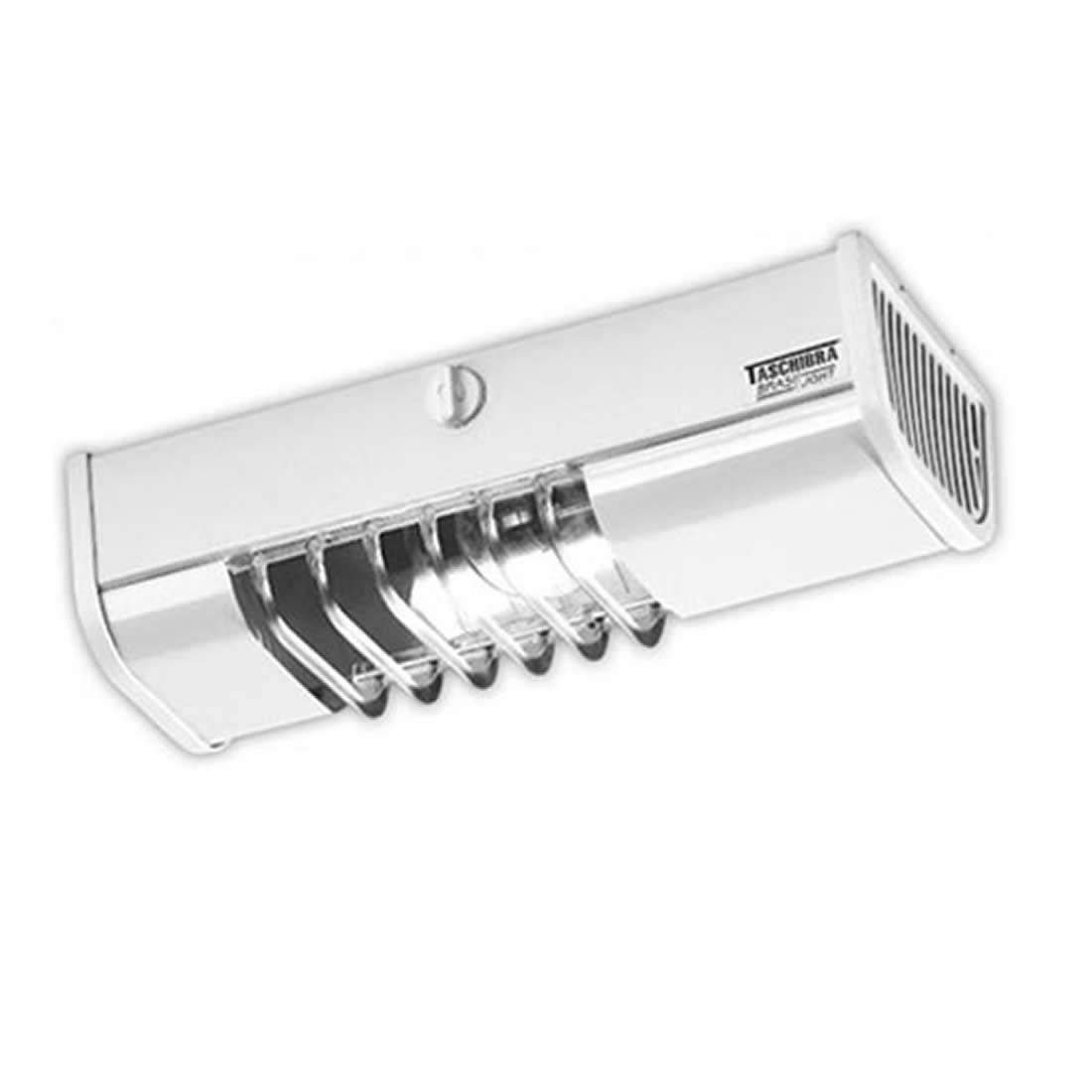 Luminária Taschibra Compacta Branca TA 6 Soquete E-27