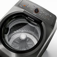 Máquina de Lavar Brastemp 15kg Titânio com Ciclo Edredom Especial e Enxágue Anti-Alérgico Ref BWN15AT