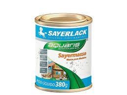 Massa para madeira branca Sayerlack 1,5kg REF - YL.1424.02QT