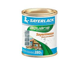 Massa para madeira Sayerlack mogno 1,5kg REF - TL.1424.62QT