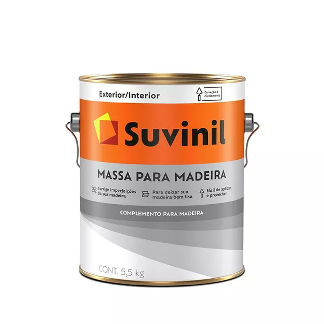 Massa Suvinil Para Madeira 3,6 Litros