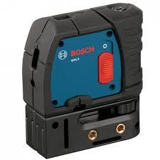 Nivelador a Laser Bosch de Pontos GPL 3 Professional 30 Metros