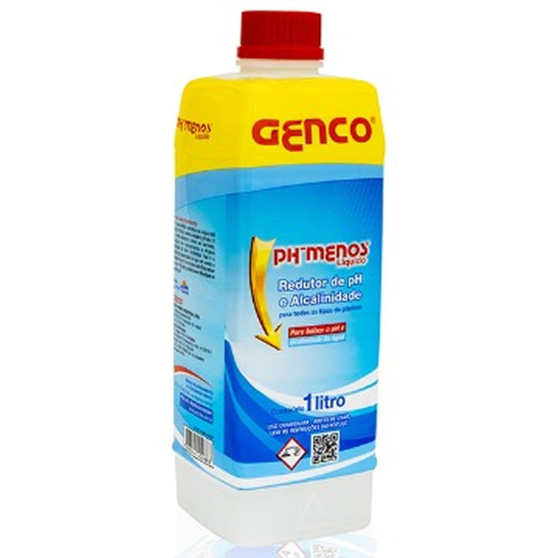 PH - Menos Liquido Acidulante 1Litro Genco