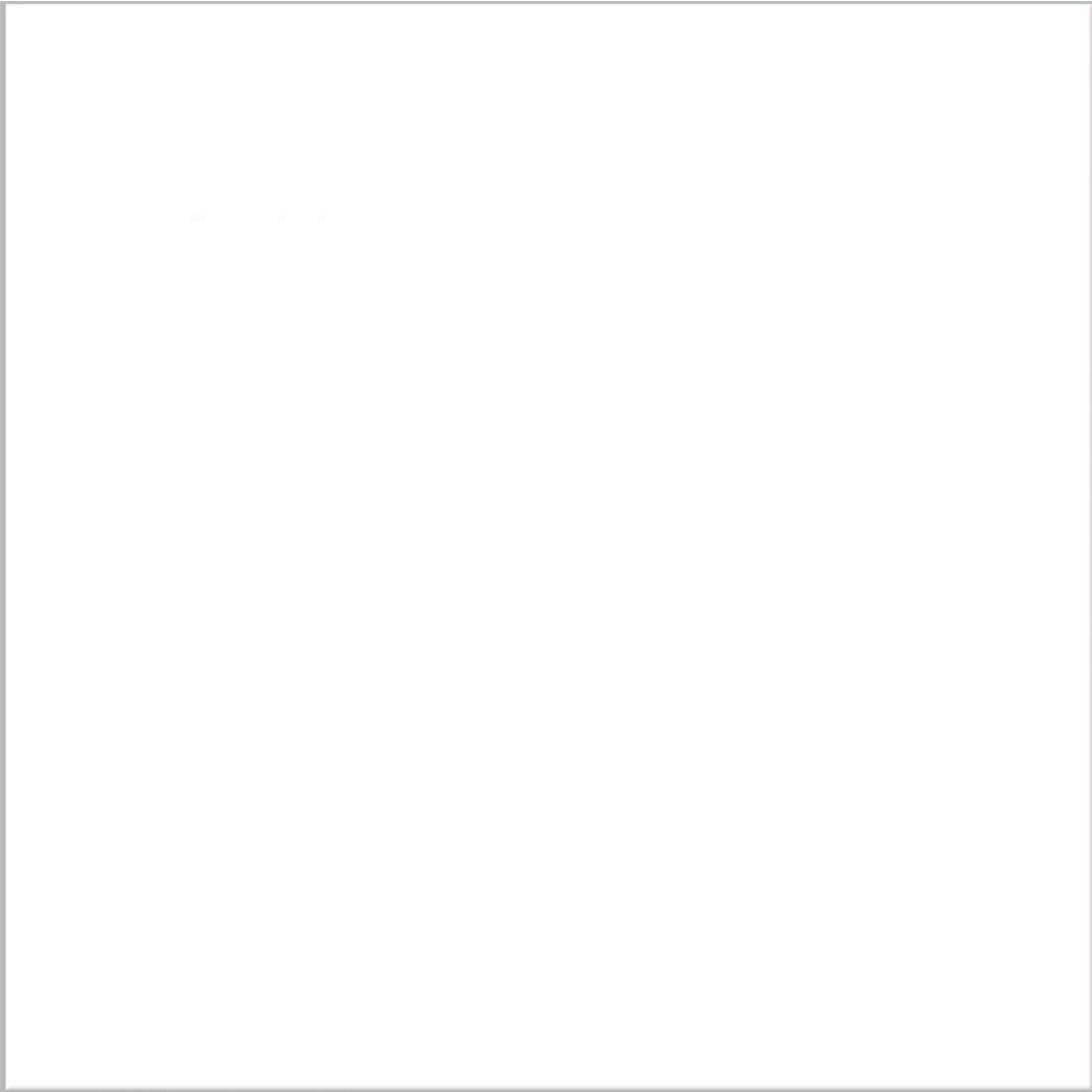 Piso Almeida 62 x 62 Branco Ref: 62A01 Com 2,30mts na Caixa