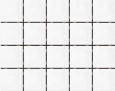 Pastilha Eliane 7,5x7,5 Studio Branco Mesh