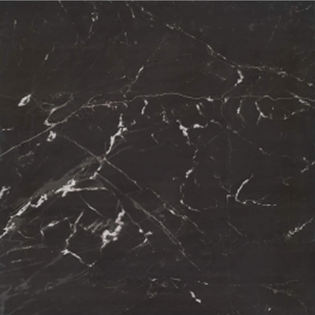 Porcelanato Elizabeth Nero Reale 84 x 84 HD Polido Ref 01040011002009