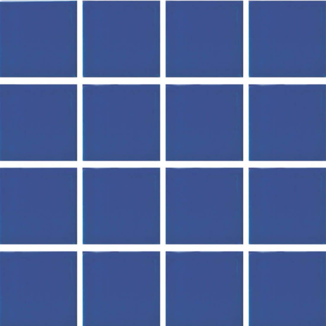 Porcelanato Portobello Pastilha 7,5 x 7,5 Prisma Blu Brilhante Ref 86349