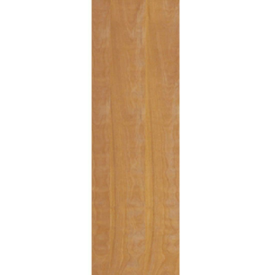 Porta 2,10 x 0,60m em Madeira Curupixa Semi Sólida Modelo Lisa Sem Frisa JB Paes