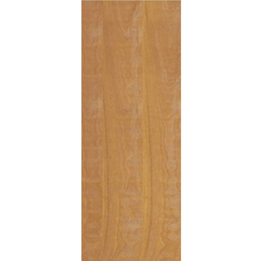 Porta 2,10 x 0,70m em Madeira Curupixa Semi Sólida Modelo Lisa Sem Frisa JB Paes