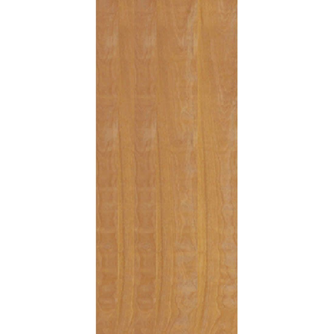 Porta 2,10 x 0,80m em Madeira Curupixa Semi Sólida Modelo Lisa Sem Frisa JB Paes