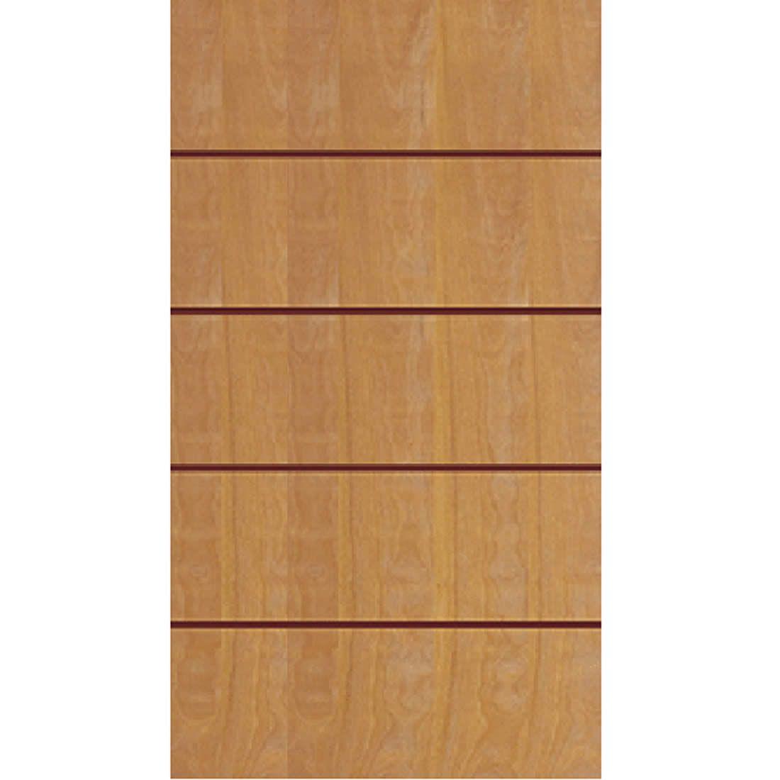 Porta 2,10 x 1.10m em Madeira Curupixa Semi Sólida Modelo 02 Frisada JB Paes