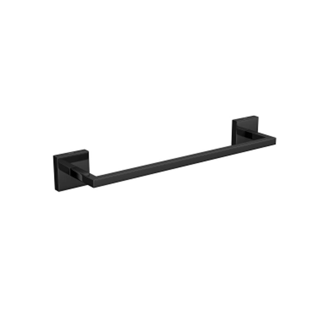 Porta Toalha Deca Clean 30 Cm Black Noir Ref 2040.BL.030.CLN.NO
