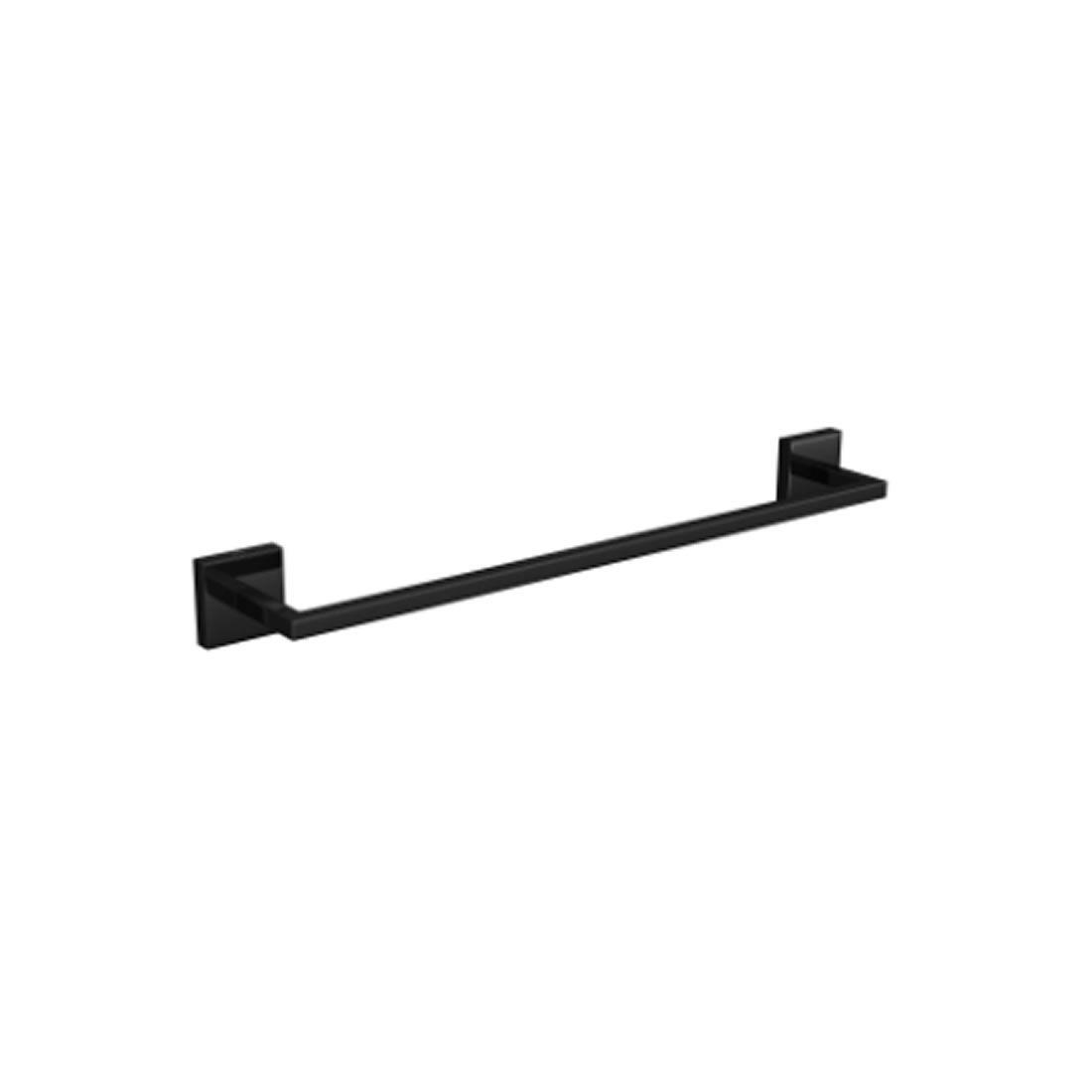 Porta Toalha Deca Clean 40 Cm Black Noir Ref 2040.BL.040.CLN.NO