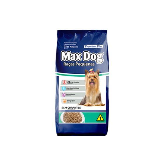 Ração Maxdog para Cães de Raças Pequenas 12kg