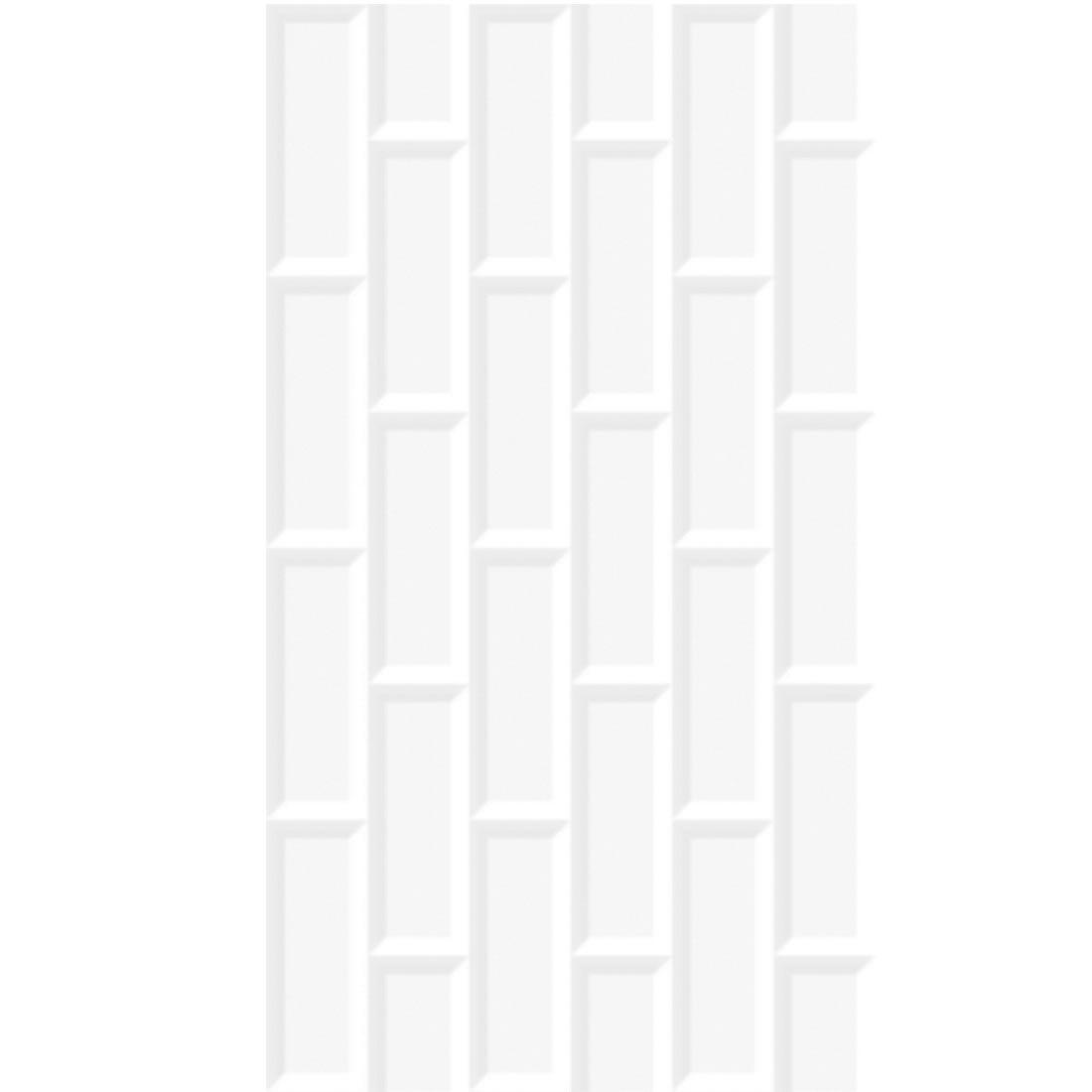 Revestimento Incopisos 32x57,5 Ref: 060112 Branco Tijolo Extra com 2mts na caixa