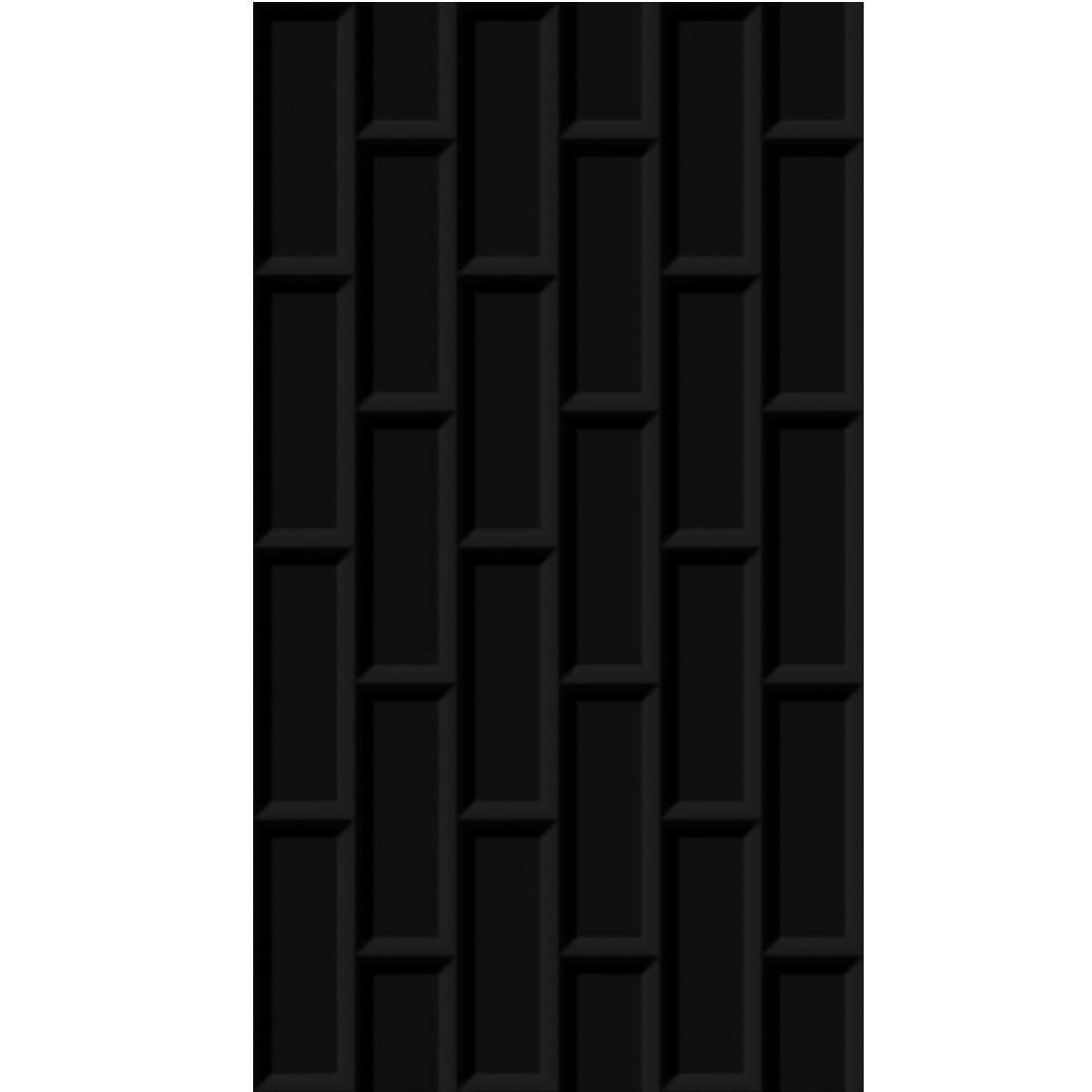 Revestimento Incopisos 32x57,5 Ref: 060113 Preto Tijolo Extra com 2mts na caixa