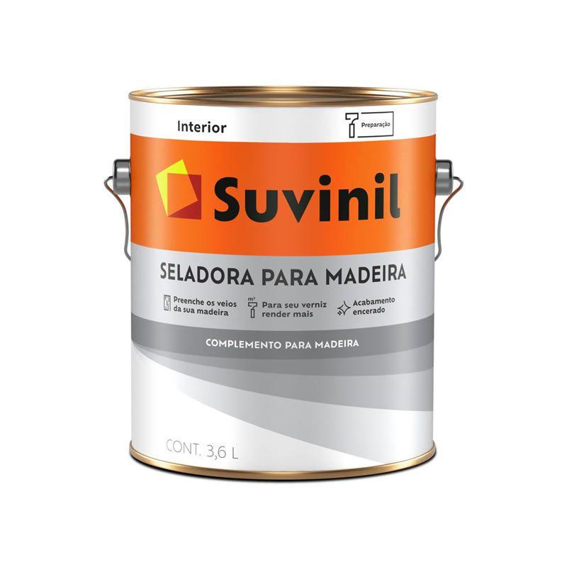 Selador para Madeira Suvinil 3,6 Litros