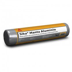 Sika Manta PS Tipo l 3MM Aluminio Rolo Com 10MT