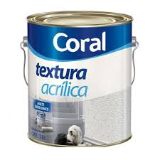 Textura Acrílica Coral Branco 6 KG