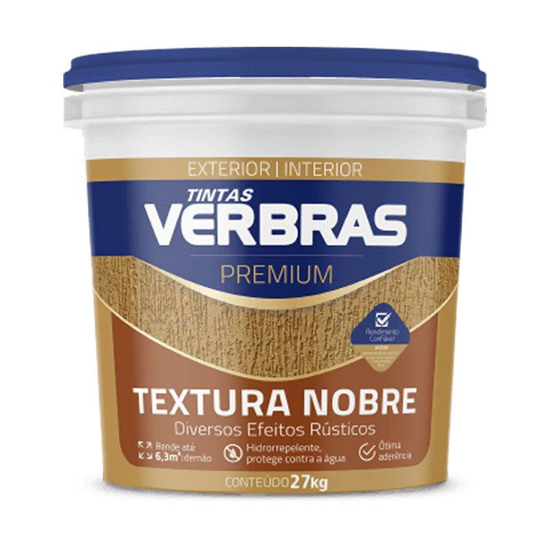 Textura Nobre Interna e Externa Verbras Premium Branco 30 Kg