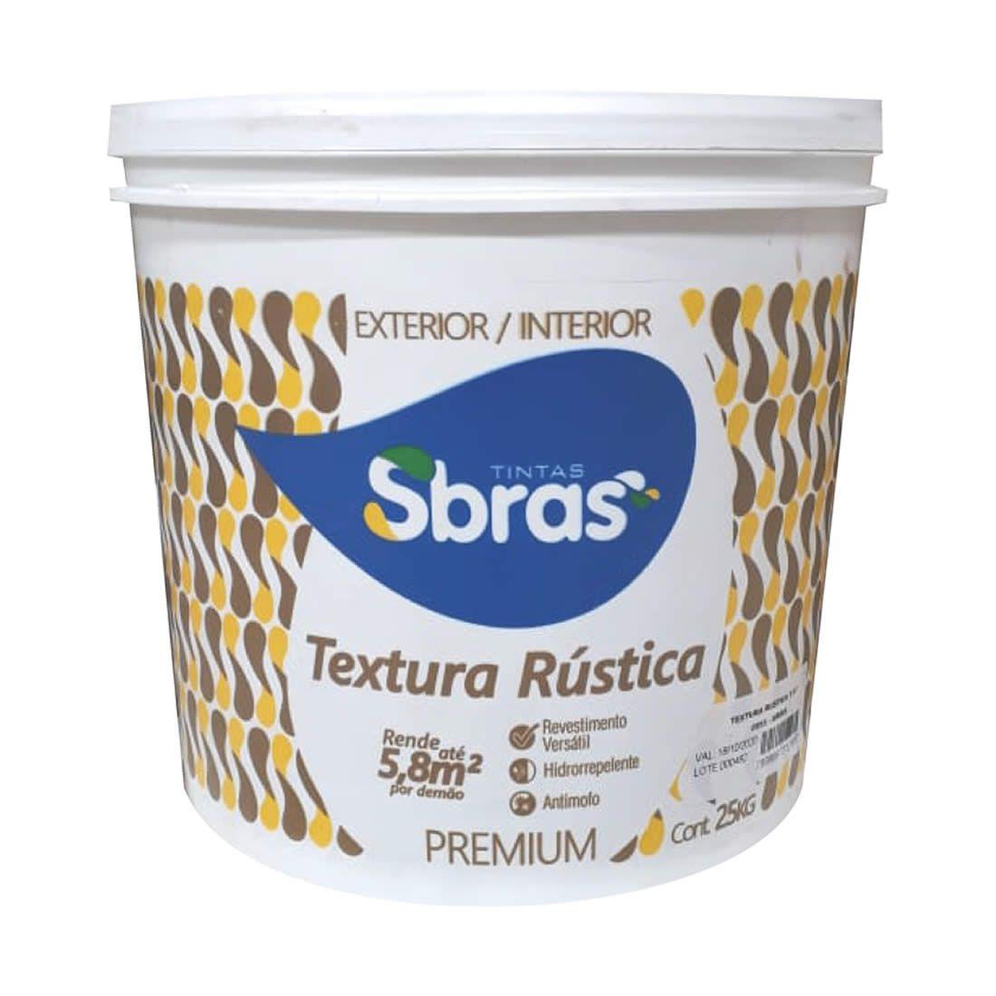 Textura Rústica Sbras Branco 25kg