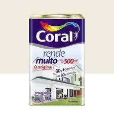 Tinta Coral Direto No Gesso Branco 18 Litros