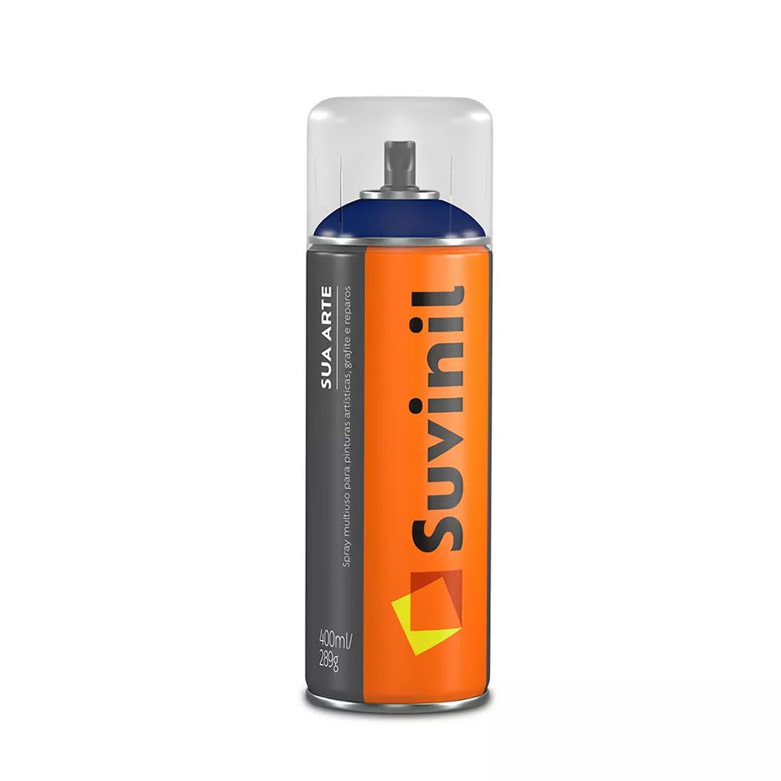 Tinta Spray Multiuso Suvinil 400ml Aluminio Brilhante