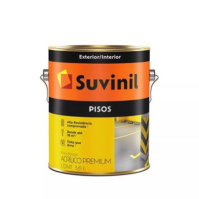 Tinta Suvinil Acrílica Para Piso Amarelo Demarcação 3,6 Litros